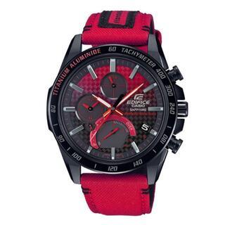 カシオ(CASIO)のカシオ EDIFICE 本田コラボモデル EQB-1000HRS-1AJR(腕時計(アナログ))