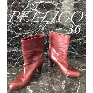 PELLICO - 【激安価格】PELLICO ペリーコ  レザー ブーツ 36