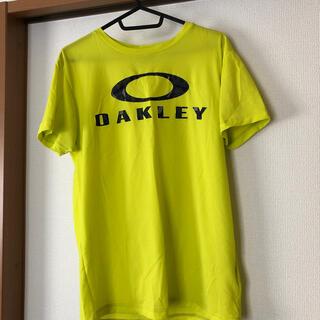 オークリー(Oakley)のオークリー  Tシャツ イエロー(ウェア)