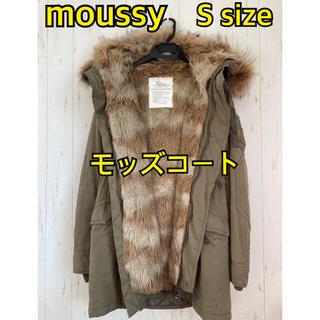 マウジー(moussy)のmoussy モッズコート カーキ レディース(モッズコート)
