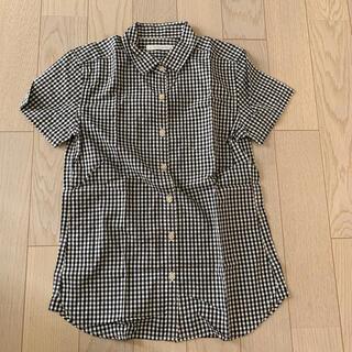 ローリーズファーム(LOWRYS FARM)の半袖シャツ ブラウス チェックシャツ(シャツ/ブラウス(半袖/袖なし))
