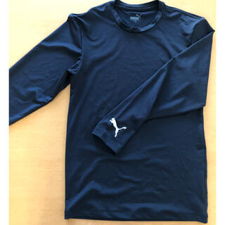 プーマ(PUMA)の美品 ほぼ新品 プーマ スポーツウェア 150 シャツ 長袖(ウェア)