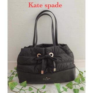 kate spade new york - 【Kate spade】ケイトスペード♠️ハンドバッグ/トートバッグ★黒/キルト
