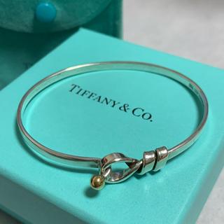 Tiffany & Co. - ティファニー Tiffany フック バングル  ブレスレット k18 シルバー
