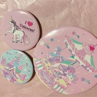 アンジェリックプリティー(Angelic Pretty)のPretty♡ノベルティ缶バッチ2つ♡おまけ(バッジ/ピンバッジ)
