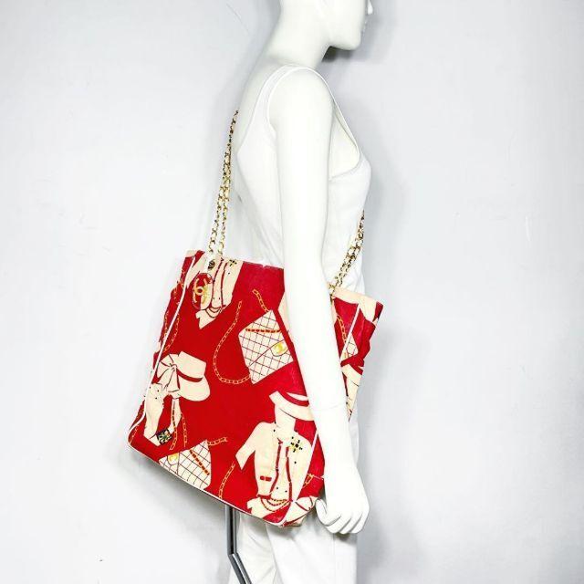 CHANEL(シャネル)の【SALE】シャネル チェーントートバッグ キャンバス マドモアゼル 1Q59 レディースのバッグ(トートバッグ)の商品写真
