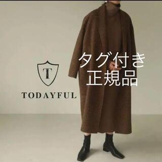 トゥデイフル(TODAYFUL)のTODAYFUL オーバーチェックコート(ロングコート)