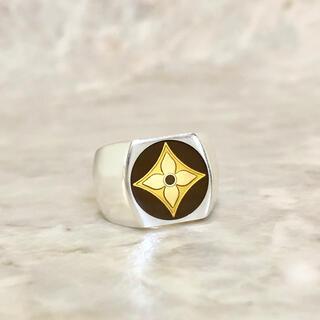 LOUIS VUITTON - 正規品 ヴィトン 指輪 フルール シルバー SV925 モノグラム 金 リング