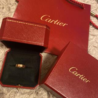 Cartier - カルティエ ダイヤ ラブリング ピンクゴールド