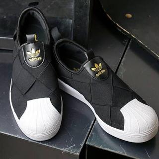 adidas - 【新品】adidas アディダス スーパースター スリッポン 23cm