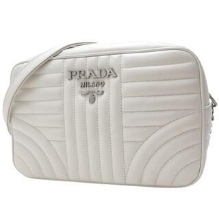 PRADA - プラダショルダー ダイアグラム レザーバッグ カーフ 白 40800064953