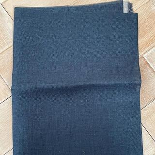 OLYMPUS - オリンパス 刺繍布 リネンクロス NO.3500  紺 約30×96cm