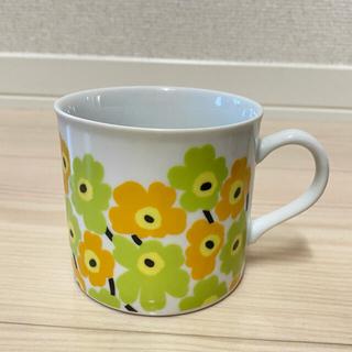 marimekko - マリメッコ マグカップ ミニウニッコ イエロー ライム
