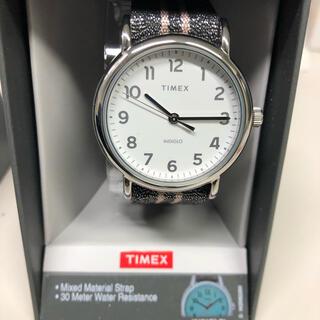 タイメックス(TIMEX)のTIMEX ウィークエンダー シルバー メタリック 38mm 新品 未使用(腕時計(アナログ))