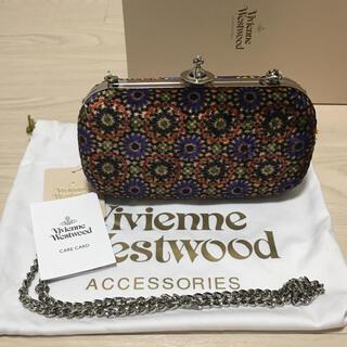 Vivienne Westwood - 未使用 ヴィヴィアンウエストウッド チェーン クラッチ パーティバック 総柄
