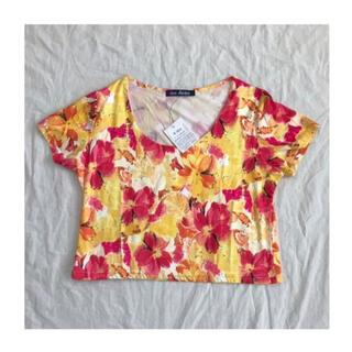 ミージェーン(me Jane)の花柄 トップス Tシャツ(Tシャツ(半袖/袖なし))