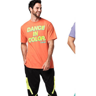 Zumba - 【値下げ!新品未開封】Zumba Dance  Tシャツ オレンジ
