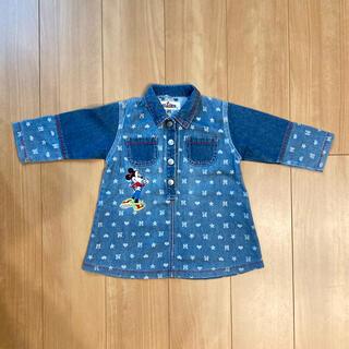 ディズニー(Disney)のジージャン ワンピース(Tシャツ/カットソー)