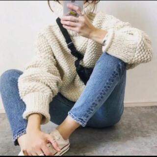 トゥデイフル(TODAYFUL)の美品 TODAYFUL   ざっくりニット(ニット/セーター)