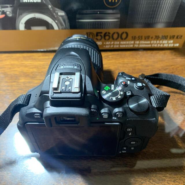 Nikon(ニコン)のNikon ニコン d5600 一眼レフ カメラ スマホ/家電/カメラのカメラ(デジタル一眼)の商品写真