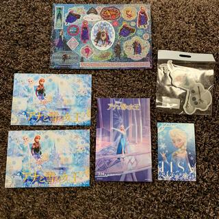 アナトユキノジョオウ(アナと雪の女王)のアナと雪の女王 シール ポストカード(キャラクターグッズ)