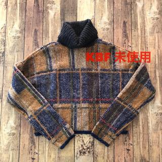 KBF - 未使用!! KBF  ニット セーター