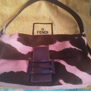 FENDI - 新品同様 レア希少 FENDI ハラコ バケット ハンドバッグ