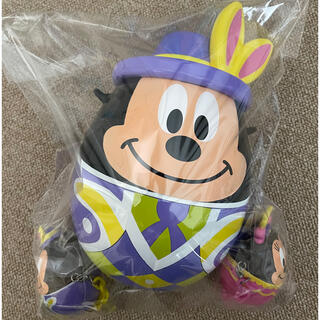 ミッキーマウス(ミッキーマウス)の【 新品未使用 】ミッキー イースター ポップコーンケース スーベニアケース付き(キャラクターグッズ)