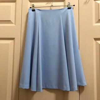 クミキョク(kumikyoku(組曲))の水色スカート(ひざ丈スカート)