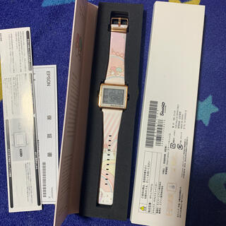 エプソン(EPSON)のスマートキャンバス EPSON キキララ  時計 腕時計 新品(腕時計)