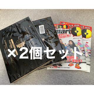 タカラジマシャ(宝島社)のsmart11月号 村上隆 HIKARU お花クッション 新品未開封 2個セット(ファッション)