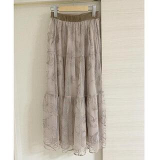 Rirandture - 2020年 リランドチュール ドローイング刺繍スカート