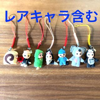 キユーピー(キユーピー)のご当地キューピー ストラップ 7個 レア物含む(キャラクターグッズ)