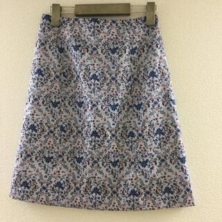 クミキョク(kumikyoku(組曲))の花柄スカート(ミニスカート)
