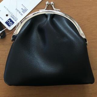 ジーユー(GU)のGU ガマグチミニウォレット 黒(財布)