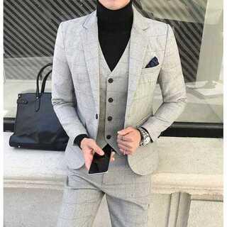 二次会 イベント 紳士 セットアップ 着痩せ ビジネス 定番  zb363(セットアップ)