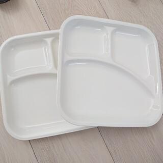 ニトリ(ニトリ)のランチプレート❤️スクエア  DELI  2枚セット(食器)