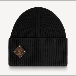 ルイヴィトン(LOUIS VUITTON)のルイヴィトン ボネ・LVピーニー ニット帽 M76706(ニット帽/ビーニー)