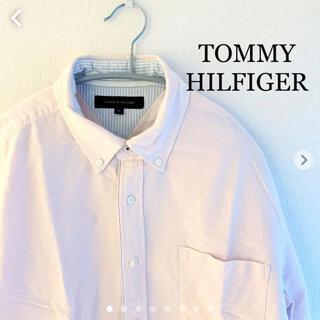 トミーヒルフィガー(TOMMY HILFIGER)のTOMMY HILFIGER|トミーヒルフィガー 長袖シャツ ピンク XLサイズ(シャツ)