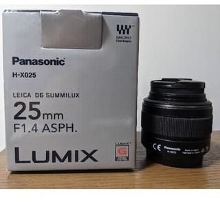 Panasonic - H-X025 LEICA DG SUMMILUX 25mm F1.4 ASPH