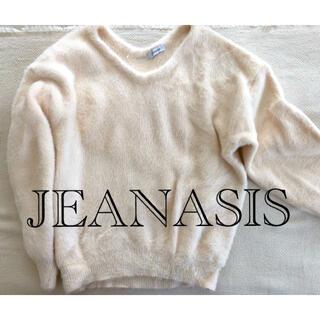 ジーナシス(JEANASIS)のJEANASIS ニットトップス(ニット/セーター)