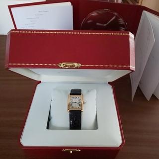 Cartier - 美品☆カルティエ Cartier タンクソロ SM イエローゴールドYG