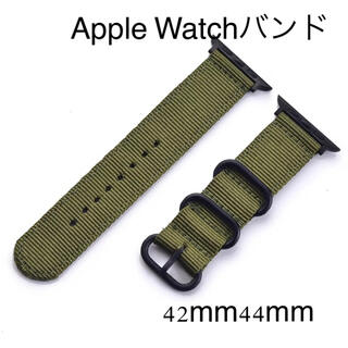 Apple Watch - AppleWatch アップルウォッチ バンド NATOベルト 42 44