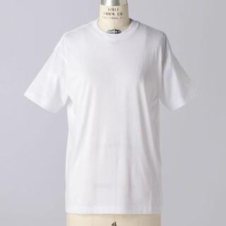 Drawer - ブラミンク 定番 刺繍 Tシャツ BLAMINK白ドゥロワー