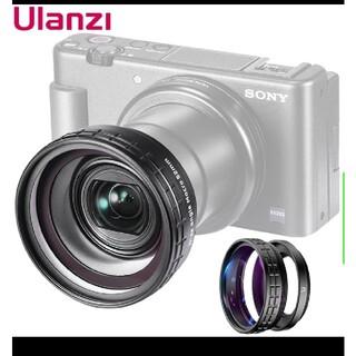 Sony zv-1用 ulanzi広角レンズ rxシリーズもok