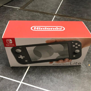 ニンテンドースイッチ(Nintendo Switch)の新品未使用 任天堂 スイッチ NINTENDO SWITCH LITE グレー(携帯用ゲーム機本体)