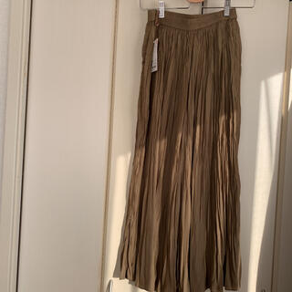 UNIQLO - サテンスカートパンツ