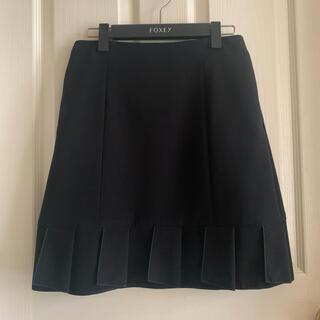 FOXEY - フォクシー スカート  38サイズ 黒 ルネ