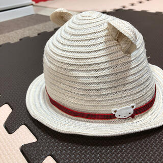 familiar - ファミリア 麦わら帽子 帽子 耳つき 47