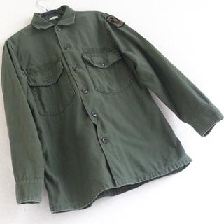 ◆29 レア 80s 90s ビンテージ ARMY ミリタリー シャツ 戦闘服